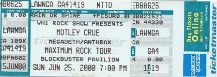 Tickets 91 17